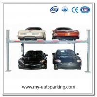 Wholesale Hot For Sale! Cheap and High Quality Double Car Parking System Four Posts Parking Lift from china suppliers