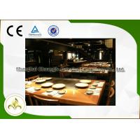 Wholesale Professional Japanese Teppanyaki Grill Table 7 Seats Capacity For Shellfish / Vegetable from china suppliers