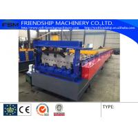 Wholesale Trough Closed Lader Metal Deck Roll Former Machine With Hydraulic Station Customizable from china suppliers