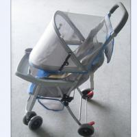Wholesale Gray Foldable Baby Buggy Stroller With Storage Basket for Child from china suppliers