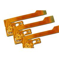 Wholesale 0.13 mm Flexible Circuit Board with Immersion Gold , flex pcb prototype from china suppliers
