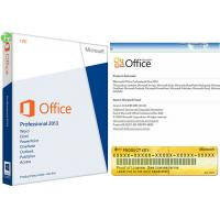 Quality Windows Server Operating System Microsoft Office Professional 2013 Key Card for sale
