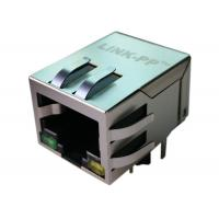 Wholesale RB1-215BTAMA Gigabit 10Pin Magnetic RJ45 Jack Single Port With LEDs from china suppliers