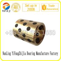 Quality All size for copper bushing ,brass bushing, bronze bushing with graphite for sale