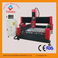 Buy cheap Stone CNC Engraving machine with 1300 x 1800mm work area/4500W water cooling spindle TYE-1318C from wholesalers