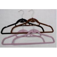 Wholesale Velvet Hanger With Tie Bar & Hook / Tie Hanger / Hook Hanger from china suppliers