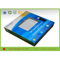 Wholesale Colorful Printed Gift Packaging Boxes 15 X 15 X 3 CM Glossy Lamination With PET Window from china suppliers