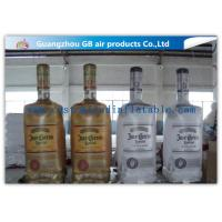 Wholesale Big Liquor Bottle Shape Inflatable Advertising Signs OEM With Custom Printing from china suppliers