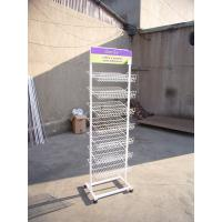Wholesale White Trade Show Brochure Display Racks Wire Mesh Display Stands from china suppliers