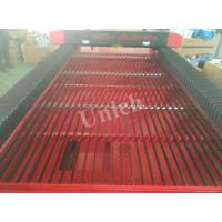 Quality Red and black color blade table Laser Cutting Engraving Machine 1300 * 2500mm for sale