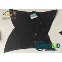 Wholesale Black Men Garment Shoulder Padding With Polyester / Cotton / Glue from china suppliers