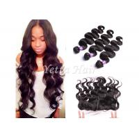 Wholesale 7A Peruvian Lace Top Closure Virgin Body Wave Hair 13'' X 4'' Ear To Ear from china suppliers