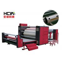 Wholesale 57KW Roll To Roll Heat Press Machine / Textile Sublimation Roller Heat Transfer Machine from china suppliers