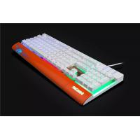 Quality LED light wired gaming Mechanical Keyboard Aluminum mechanical keyboard for sale