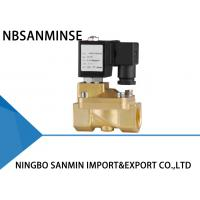 Wholesale Custom PM 2 / 2 Way Brass Solenoid Valve , Latching Solenoid Valve For Gas from china suppliers