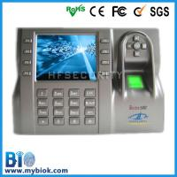 Wholesale Large Capacity Attendance Terminal with Access Control Bio-Iclock580 from china suppliers