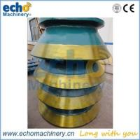 Wholesale high quality cone crusher spare parts bowl liner for mining,crushing and aggregate plant from china suppliers