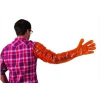 Wholesale LDPE / HDPE / Plastic Disposable Veterinary Gloves With Long Arm To Shoulder from china suppliers