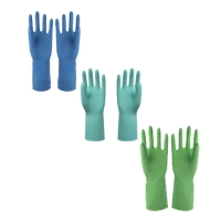 China Anti Oil Latex Dishwashing Gloves , Rubber Gloves For Washing Dishes on sale