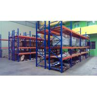 Wholesale Supermarket steel board heavy duty shelving with forklift entry / extract ,  2 - 8m from china suppliers