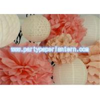 "Wholesale 12""-16"" Party Paper Lantern / Tissue Paper PomPoms Flower Balls For Bedroom Decoration from china suppliers"
