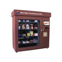 Wholesale Touch Screen Mini Mart Vending Kiosk Automated Retail Coin Bill Card Operated from china suppliers