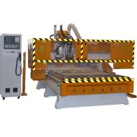 Wholesale Atuomatic 16 tools change CNC Router Machine for cabinet doors with drilling bank from china suppliers