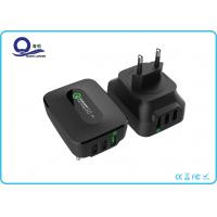 Wholesale 3 Ports 25W Qualcomm Quick Charge 3.0 & Smart USB Charger Wall Charger for Apple from china suppliers