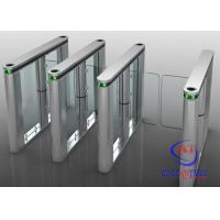 Wholesale RFID card fingerprint reader Swing Barrier Gate for Residence and office building from china suppliers