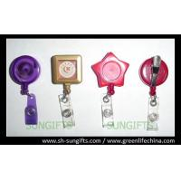 Wholesale Custom color/design badge reel, ID retractor, fashion ID accessories from china suppliers