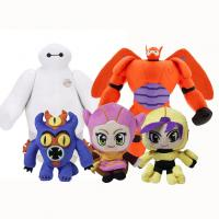Quality Big Hero 6 Baymax Action Figure Disney Plush Toys in Polyester Material for sale