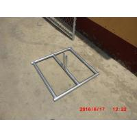 "Quality 6'x12' temporary construction fence panels ,chain mesh construction fence panels  2¼""x2¼""(57mmx57mm) x 12.5 ga for sale"