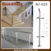 Wholesale Single Steel Plate Glass Baluster for Stairs (SJ-023) from china suppliers