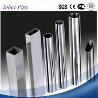 Quality Tobee ® Chinese mirror polished 201stainless steel pipe in steel tube for sale