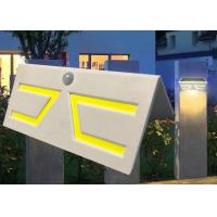 Wholesale Fashion Motion Sensor Solar Garden Light , Solar Patio Wall Lights Sun Resistance from china suppliers