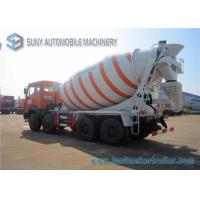Wholesale 280 Hp North Benz volumetric concrete mixer truck , concrete mixer lorry 8 Cbm from china suppliers