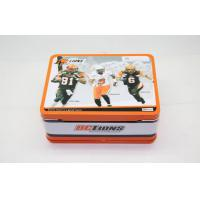 Wholesale Pantone Children School Lunch Tin Box 0.21 ~ 0. 30 mm Thickness from china suppliers