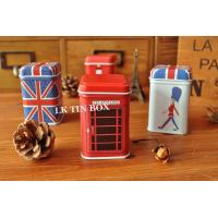 Wholesale Square Coin Tin box printing with stackable lid , Metal Storage Tins from china suppliers