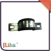 Wholesale OEM / ODM Rubber Lined Pipe Clamps / Rubber Tube Clamps 1.2mm Thickness from china suppliers