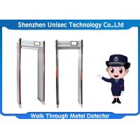 Wholesale 33 Zones Door Frame Metal Detector Waterproof Material ODM / OEM Approved from china suppliers