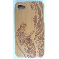 Wholesale Bamboo Phone Cases , Unique Cell Phone Cases For Iphone 4s / 5s / 5c / 6 Plus from china suppliers