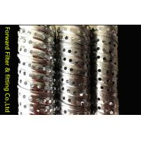 Wholesale Round Corrugated Metal Perforated Steel Tubing Locking Seam Filter Core from china suppliers