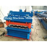 Wholesale Automatic Roofing Sheet Roll Forming Machine Steel Profile Metal Roll Forming Machine from china suppliers