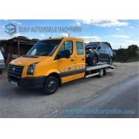 Wholesale Volkswagen Yellow 3 Ton Platform Tow Truck Wrecker Euro 6 Double Cab from china suppliers