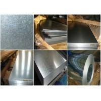 Wholesale Commercial Galvanized Steel Strip , High Strength Steel Plate Heat Resistance from china suppliers