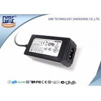 Wholesale 24W Desktop Switching Power Supply Black Color 15V With AC / DC Cable from china suppliers