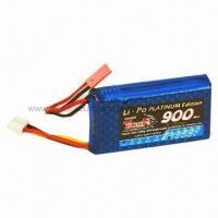 Wholesale 7.4V/900mAh/25C Lithium Polymer Battery for RC Helicopters from china suppliers