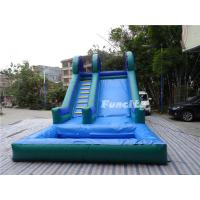 Wholesale Kids and Adults Large 0.55mm PVC Tarpaulin Inflatable Slide Games from china suppliers
