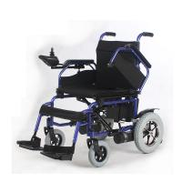 Wholesale Intelligent Control Portable Electric Wheelchair Foldable Steel Material from china suppliers