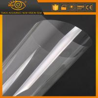 Buy cheap Transparent sun control car safety film window safety film in Plastic Film from wholesalers